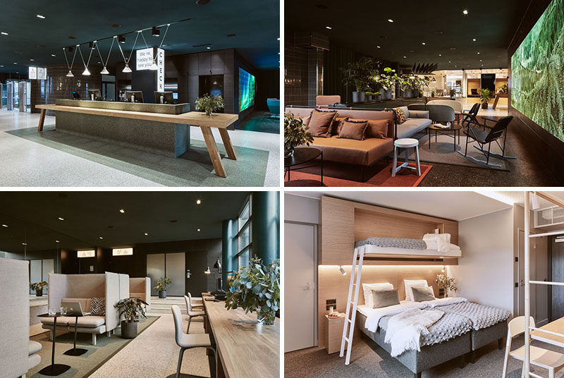 Fyra, a Finnish interior design company, has recently redesigned the interiors of the Cumulus Resort Airport Hotel in Vaanta, Finland. #Hotel #Finland #InteriorDesign