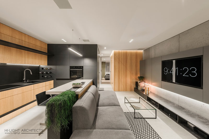 Hi-Light Architects have designed a modern apartment in ...