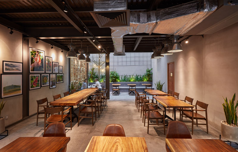 Incredible Modern Coffee Shop Design Wood Chairs And Tables 120418 1246 Ibusinesslaw Wood Chair Design Ideas Ibusinesslaworg