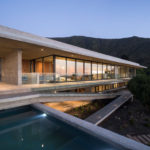 Felipe Assadi Arquitectos Have Designed A Concrete House With A Cantilevered Swimming Pool