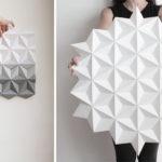 Kinga Kubowicz Has Created Moduuli, A Collection Of Geometric Origami Wall Art