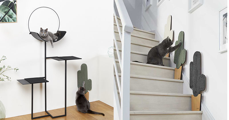 innovative modern cat furniture | Meyou Have Launched Their 2018 Cat Furniture Designs ...