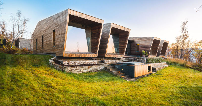 This House In Norway Was Designed With Many Opportunities For Views Of The Surrounding Area