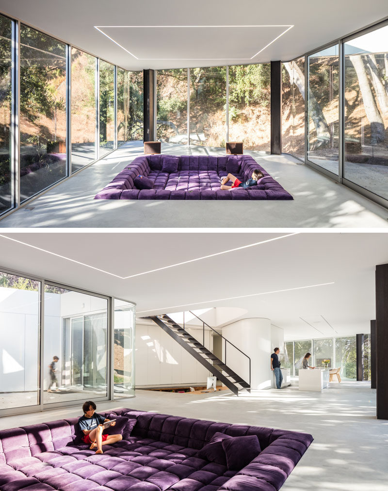 This New House Has A Sunken Living Room And A Sunken Home
