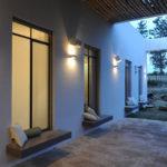 Design Detail – Exterior Built-In Window Seats