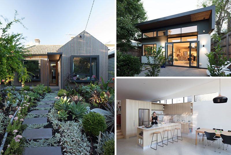Habitech systems have designed the renovation and extension of an original victorian cottage in hawthorn