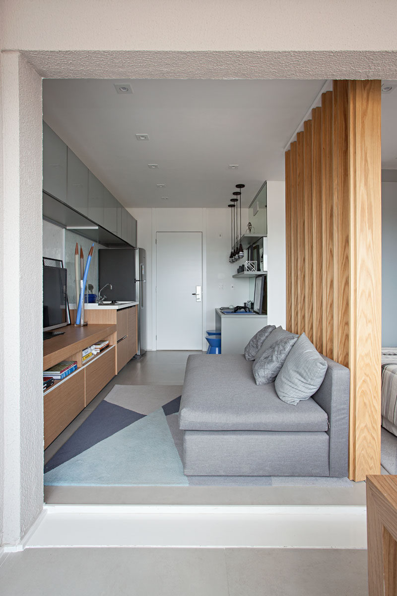Kitchen Room Interior Design: This Small Apartment Makes Efficient Use Of Limited Space