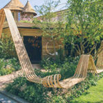 Tom Raffield Made A Steam Bent Pavilion For The Chelsea Flower Show