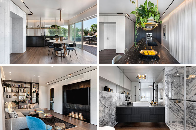 Interior designers Oshri Aviram and Dana Kushmirskihave recently completed a modern penthouse apartment in Tel Aviv, Israel. #ModernApartment #InteriorDesign