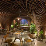 VTN Architects Used Bamboo To Create A Cave-Like Experience Inside The Nocenco Cafe