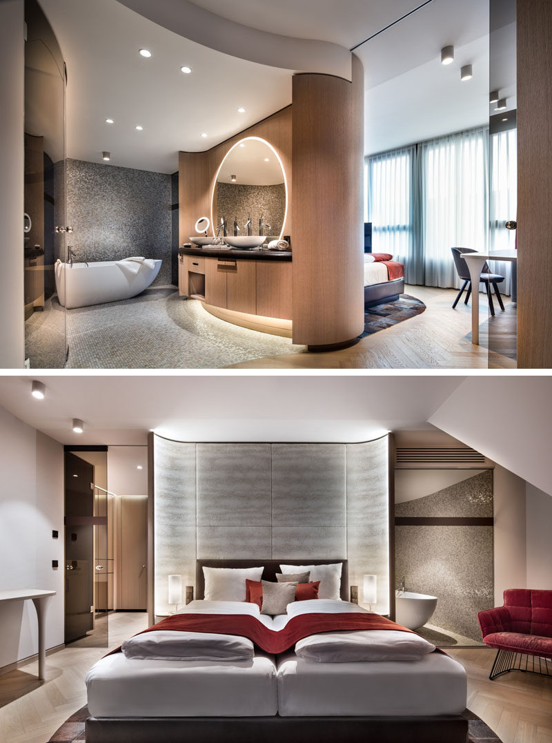 Hotel Room Designs: Take A Look Inside The Newly Completed Hotel Neues Tor In
