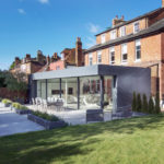 This Modern Extension Acts As A Bridge Between The Garden And The Original Red Brick Home