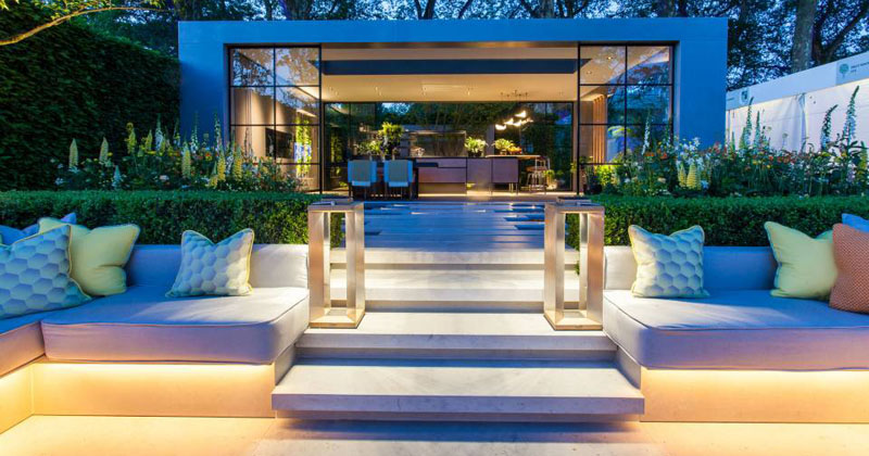 Take A Look At The Lg Eco-City Garden That Was Displayed During The 2018 Chelsea Flower Show Herbgarden - Gardening