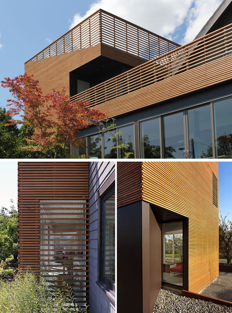 Architecture Building Culture have completed a modern addition to a historic 1905 home in the Beacon Hill neighborhood of Seattle, Washington. #WoodSlats #Addition #Architecture