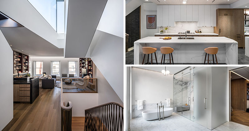 MKCA Gave This Neo-Grec Brownstone Row House A Contemporary Update