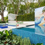 The 'Ohana' Garden Creates A Relaxing Family Space With A Lounge, Dining Area, And A Pool