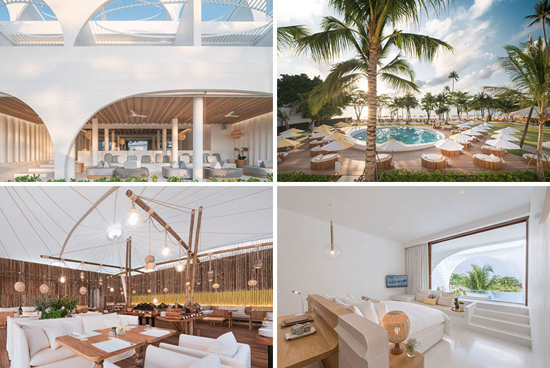 Architecture and interior design firm Onion, have recently completed theSala Samui Chaweng Beach Resort in Thailand. #ModernHotel #ModernResort #Thailand #Architecture #InteriorDesign #Travel