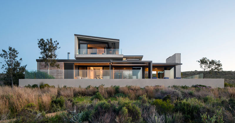 This New House In South Africa Was Designed To Enjoy The Views Over A Lagoon
