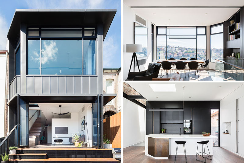 Bijl Architecture have designed a modern extension and interior renovation for a house that's located in Sydney, Australia. #ModernHouse #ModernInteriorDesign #Architecture