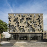 Studio Ardete Have Designed A Building With A Hexagonal Patterned Facade