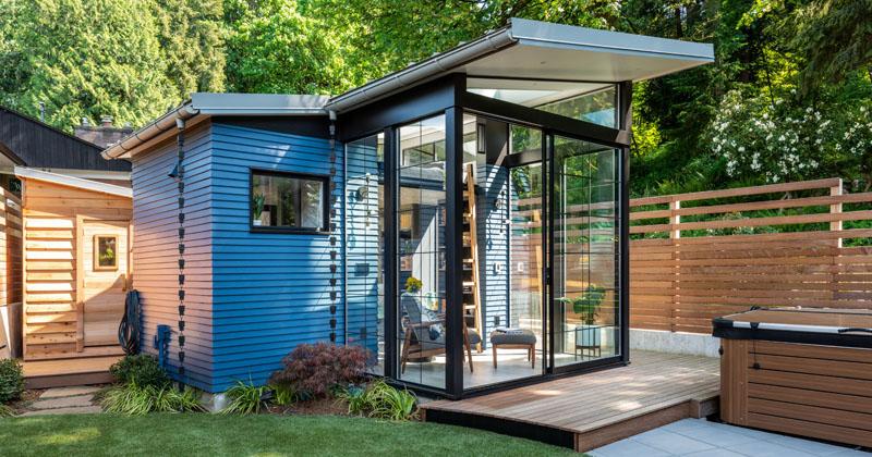 Board & Vellum Have Designed A Backyard Reading Retreat In Seattle