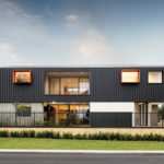 The Barnhaus Has Recently Been Completed In Perth, Australia