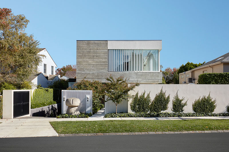 Architecton have designed a new and modern house in Toorak, a suburb of Melbourne, Australia. #ModernHouse #Architecture