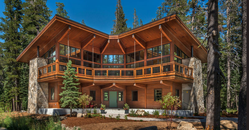 The Overland Trail Cabin by BCV Architects