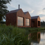 Traditional Fisherman's Cabins Inspired The Design Of This Small Wood Cottage