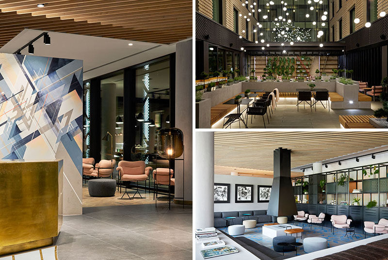 PURO hotel group together with Conran and Partners, have designed their latest property in Poland named PURO Hotel Kraków Kazimierz. #ModernHotel #Poland #Travel