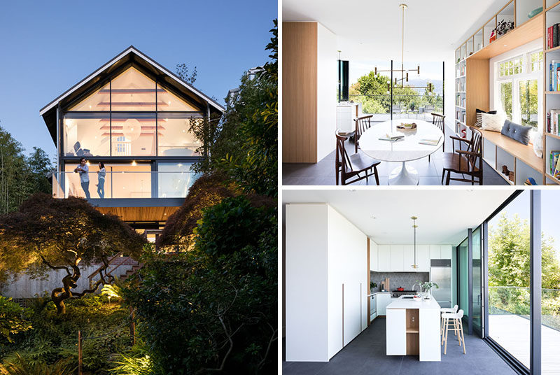 Canadian firm RUFproject, have recently completedthe unique and modern renovation of an early 1900's character house in Point Grey, Vancouver. #Architecture #ModernHouse