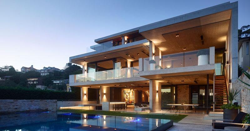 The Mosman House by Shaun Lockyer Architects