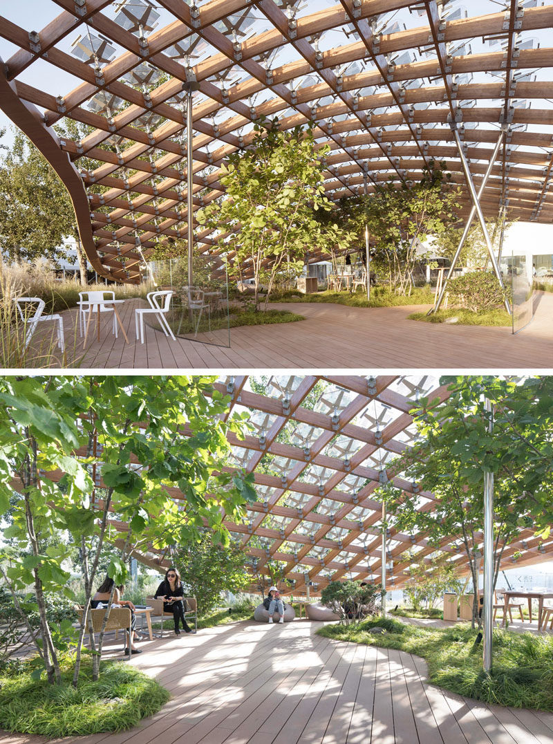 "Living & Garden mad architects envision the home of the future as a ""living garden"
