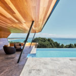 Light Wave – A Modern Cabana, Swimming Pool, And Landscape By Harley Graham Architects