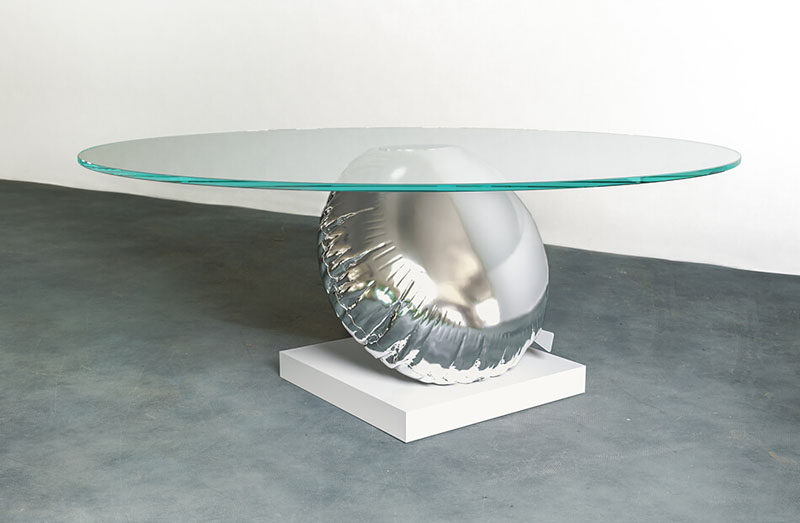 Duffy London Has Designed A Table That?s A Playful Interpretation Of Buoyancy And Balance
