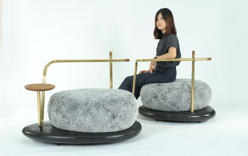 The Zen Stone Collection by Apiwat Chitapanya