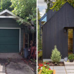 Before and After – A Backyard Garage Was Transformed Into A Tiny House