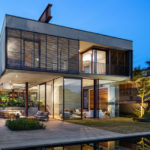 Una Architects Have Designed A New Concrete And Glass House In Sao Paulo