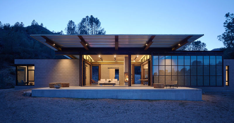 The Sawmill House By Olson Kundig