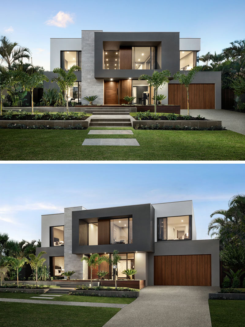 Modern Home Design: The Design Of 'The Riviera' Is Focused On Indoor/Outdoor
