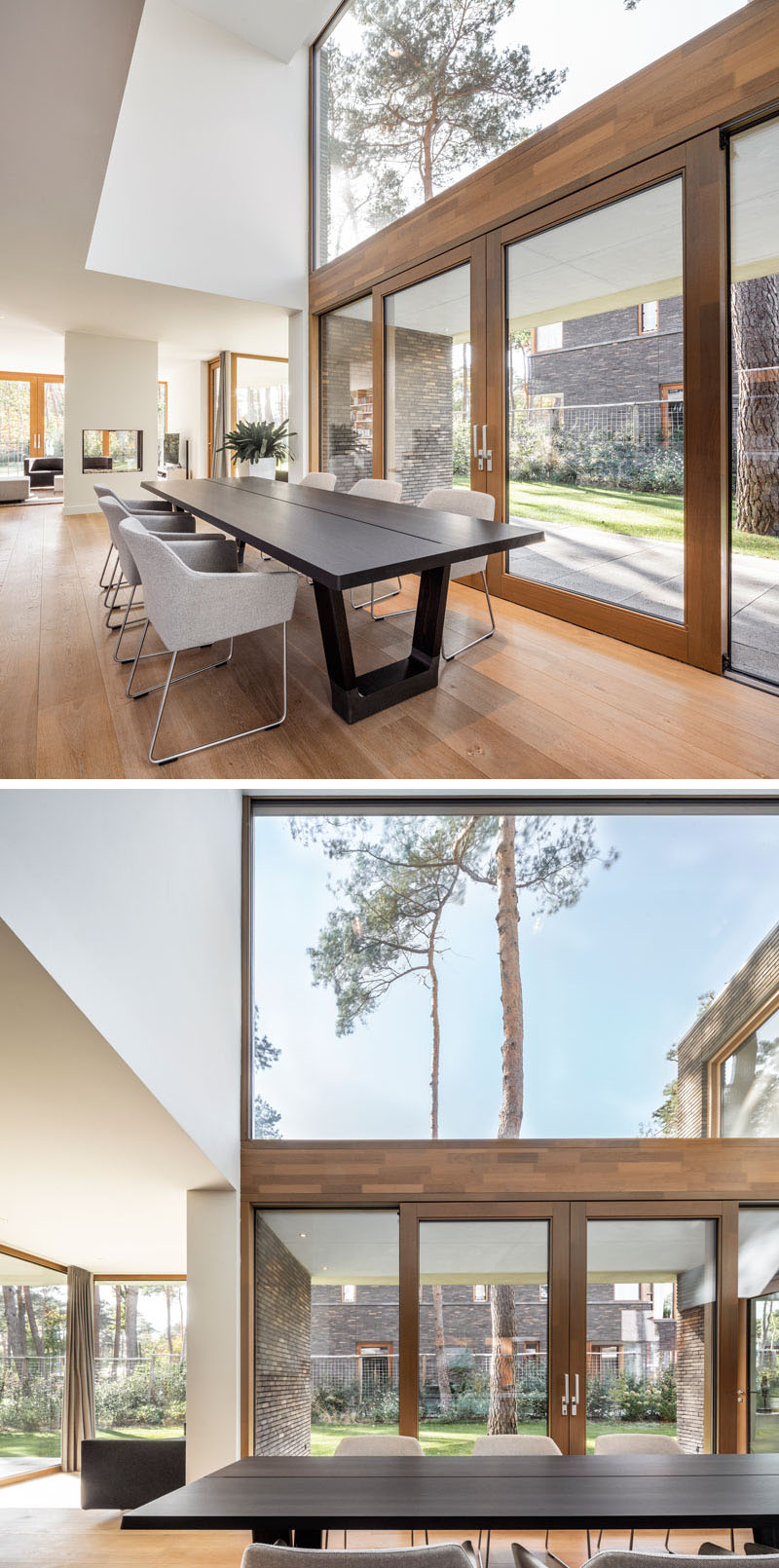 Large Windows Fill This Dutch Home With Plenty Of Natural Light