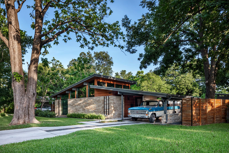 This Mid Century Modern House In Austin