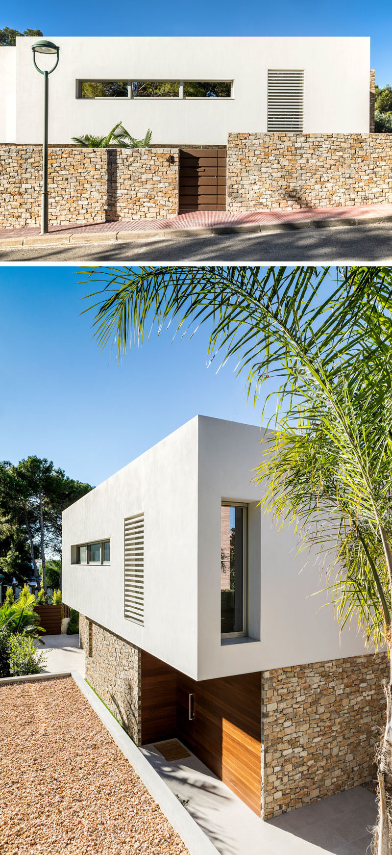 Pablo Serrano Elorduy of Dom Arquitectura, has recently completed the design of a new and modern house inTarragona, a city in Spain. #ModernHouse #HouseDesign #ModernArchitecture