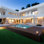 Contrasting Materials Were Used On The Exterior Of This Contemporary House In Spain