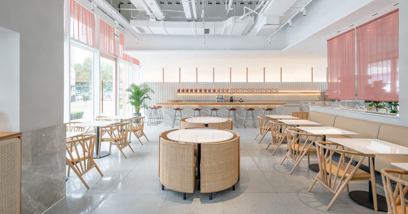 OFFICE COASTLINE Have Recently Completed A Modern Tea House In Shanghai