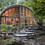 The Q Hut By Coughlin Architecture Is Surrounded By Nature