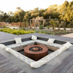 A Unique Backyard Oasis Was Designed For This Home, With A Variety Of Seating Areas, Including A Sunken Lounge