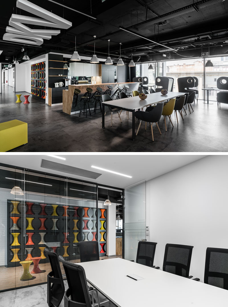 Office Was Used To Create Stool Storage