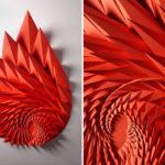 The Colorful Paper Sculptures Of Matt Shlian