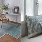 These Rugs And Cushions Were Designed To Showcase Traditional Embroidery Stitches